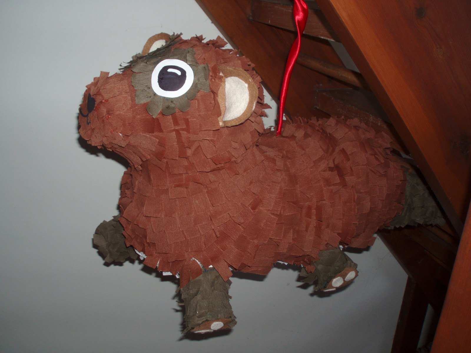 Whimsical Frippery: Ferret pinata