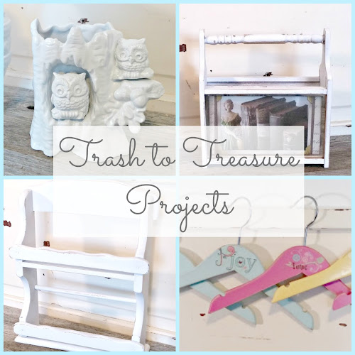 Before and After - Trash to Treasure Projects