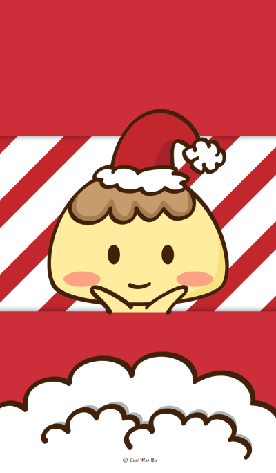 Caramel Pudding(Christmas)