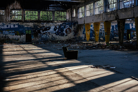Abandoned Zmaj factory