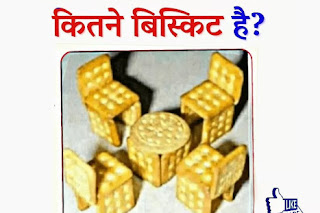 How many Biscuit In Picture virul Puzzle on whatsapp facebook