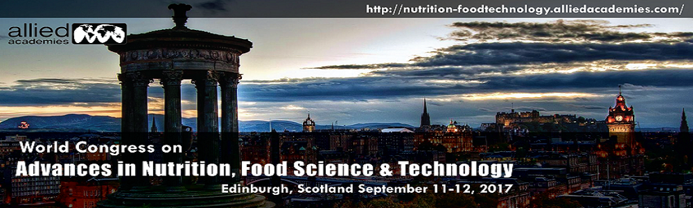 15th World Congress on Advances in Nutrition, Food Science & Technology
