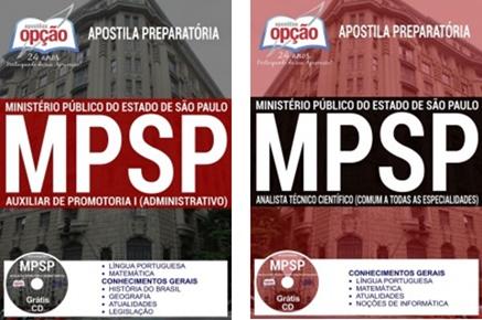 Apostila concurso MP SP 2017: Auxiliar e Analista