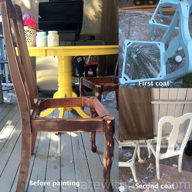 Upcycled Dinning Set for the Patio