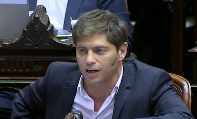 Axel Kicillof a Marcos Peña:
