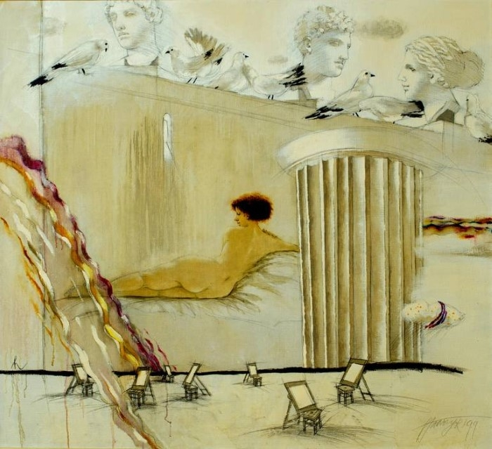 Профессиональный латвийский художник. Tatyana Palchuk