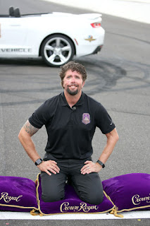 VA Military Hero Receives VIP #NASCAR Experience - Jason Redman