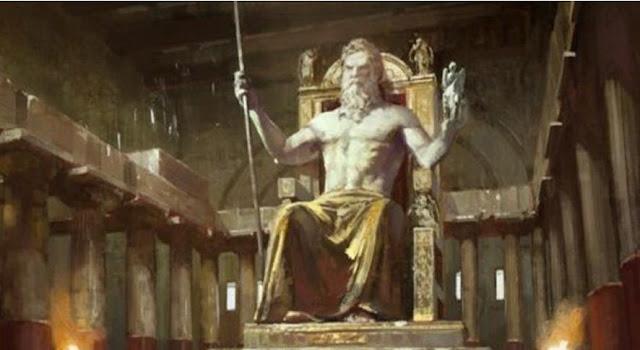 Patung Zeus di Olympia Sebagai Salah Satu Keajaiban Dunia Kuno