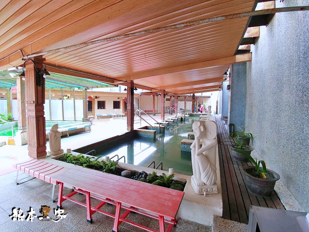 金山海灣溫泉HOTEL 大眾溫泉池餐廳環境