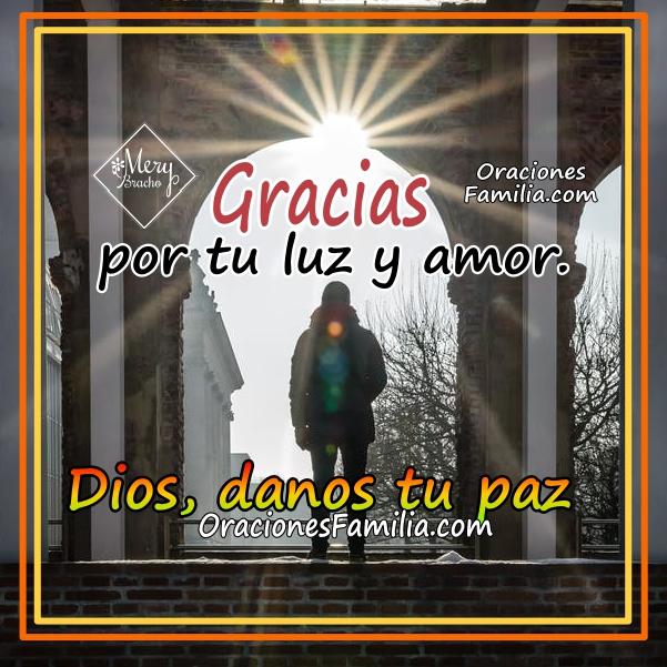 Oración corta de la mañana con frases cristianas para un buen día. Frases bonitas con imágenes y oraciones ara este día por Mery Bracho.