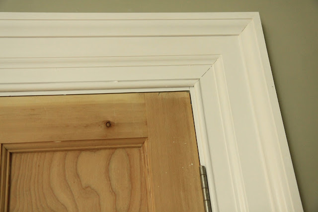 Wide architraves