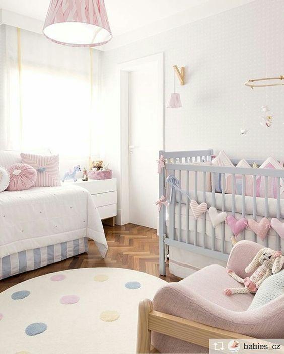 Dormitorios dulces para beb s y ni os boho deco chic - Dormitorios para bebe ...