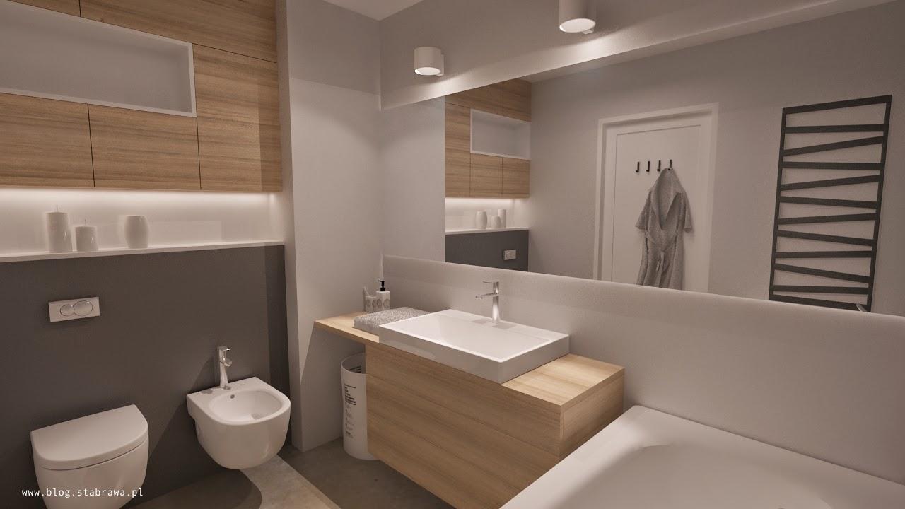 łazienka nowoczesna, żywica grzejnik dekoracyjny