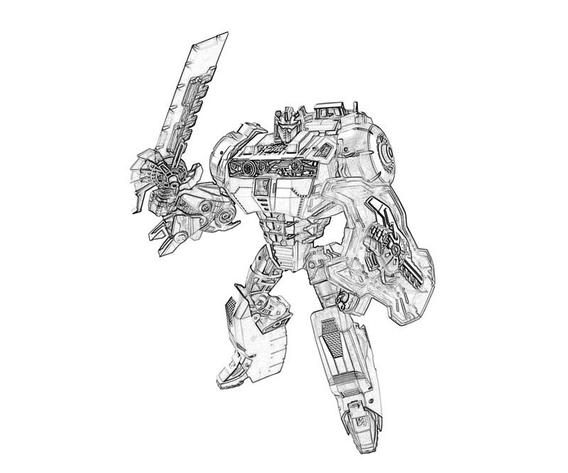 transformers cybertron coloring pages - photo#2