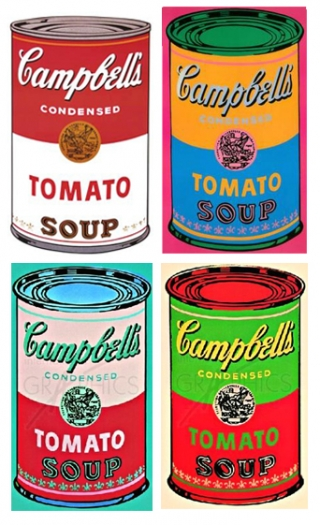 in the art room andy warhol 39 s soup cans. Black Bedroom Furniture Sets. Home Design Ideas