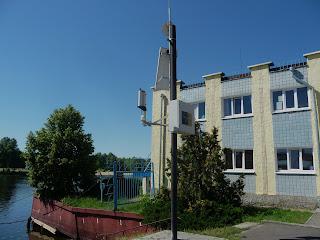 Пина, Пинск. Гидрологический пост