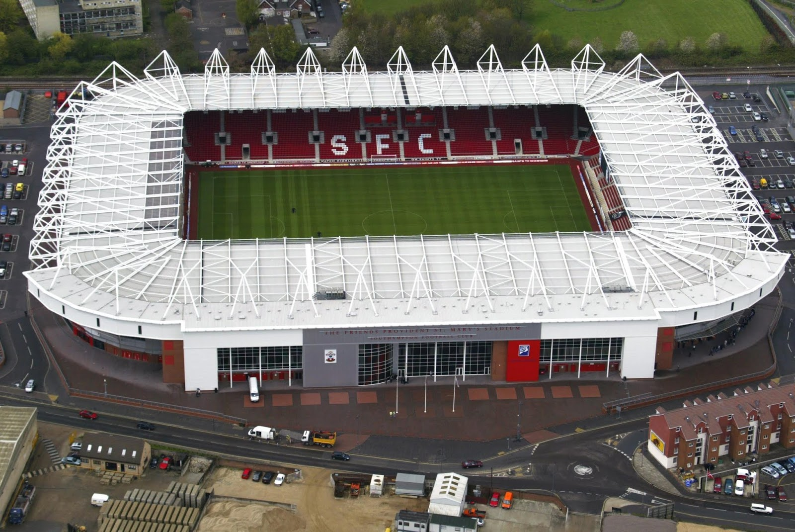 St Mary's stadium is the home of  Southampton FC since 2001.