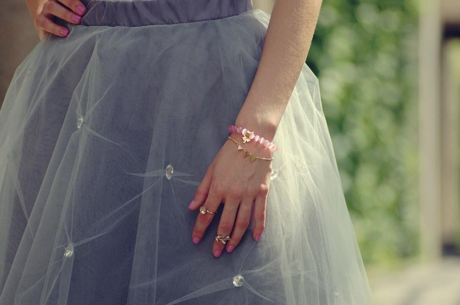 Bajkowa spódnica | tulle skirt