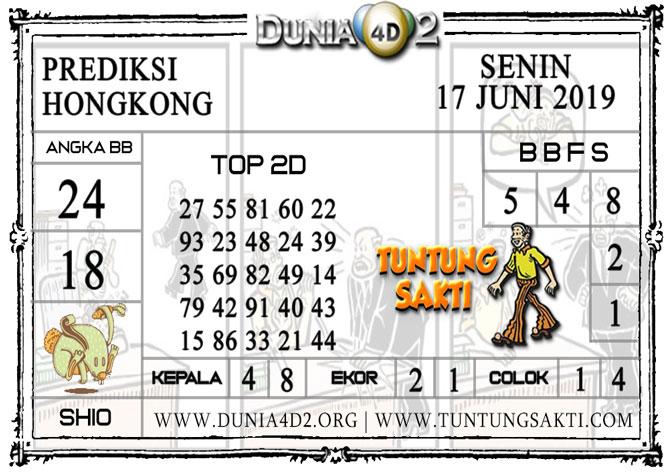 """Prediksi Togel """"HONGKONG"""" DUNIA4D2 17 JUNI 2019"""