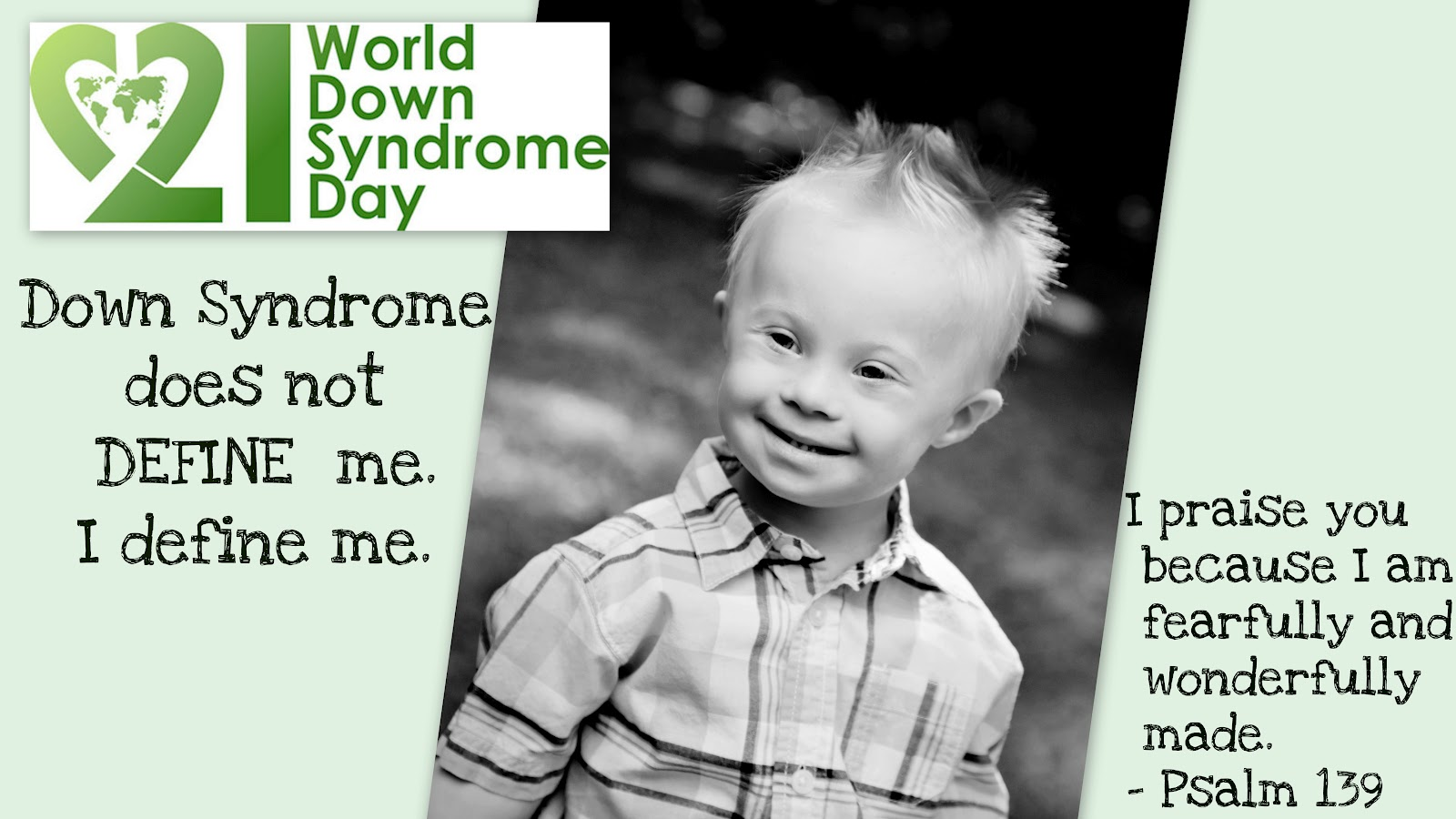 Love For Colin World Down Syndrome Day