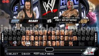 Game WWE Smackdown! vs Raw 2011 PPSSPP/ISO High Compressed