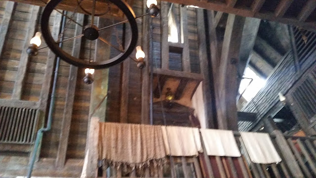 interior of the Three Broomsticks