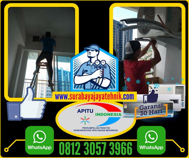Order Via Whatshap 0812 3057 3966 Jasa Pasang AC Surabaya Barat Berpengalaman.