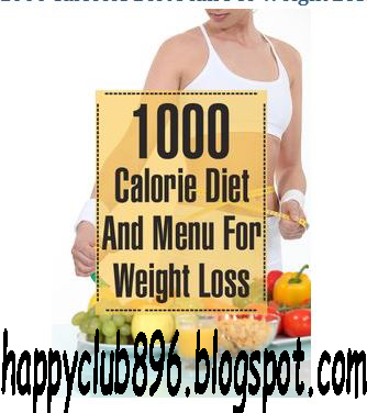 1000 Calories Diet Plan For Weight Loss