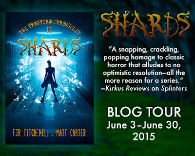 Offbeat Vagabond: Shards Blog Tour: Guest Post + Giveaway: Shards  (The Prospero Chronicles #2) by FJR Titchenell & Matt Carter