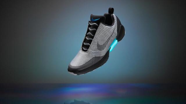 Nike lanza sus nuevos tenis inspirados en 'Volver al Futuro'; ¡Se atan solos!