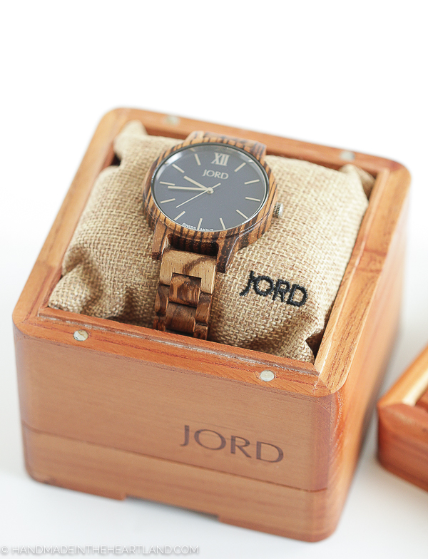 wood watch keepsake box
