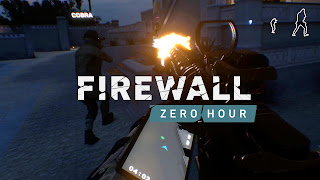 Firewall Zero Hour Logo Wallpaper