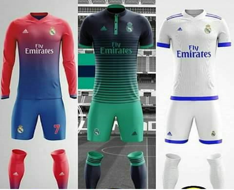 PES 2017 kits real madrid 2017/2018 fantasy by Delan Taqana
