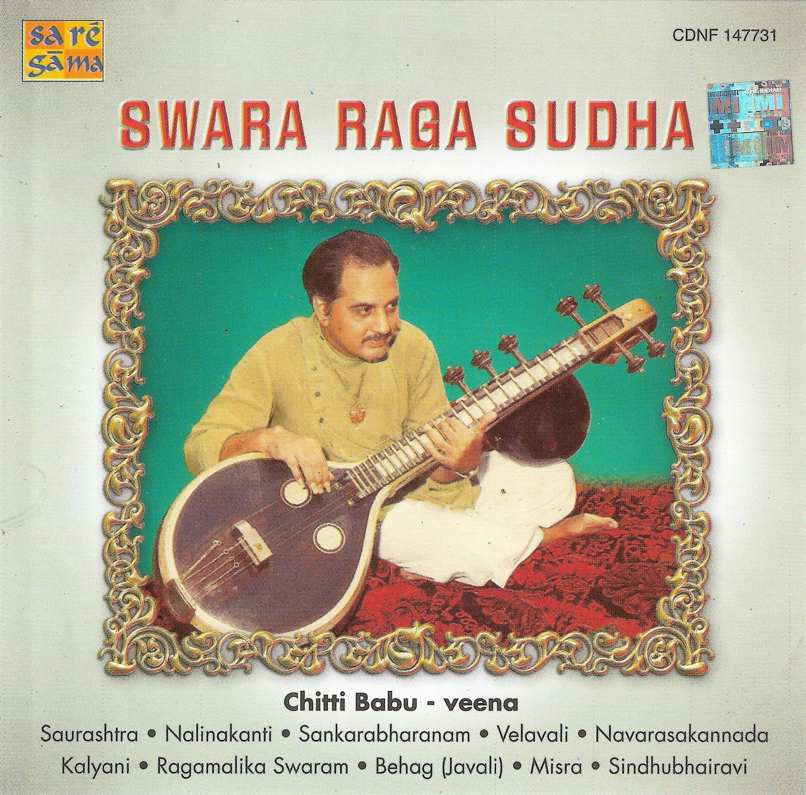 Al Loquero Con El Disquero Chitti Babu  Swara Raga Sudha