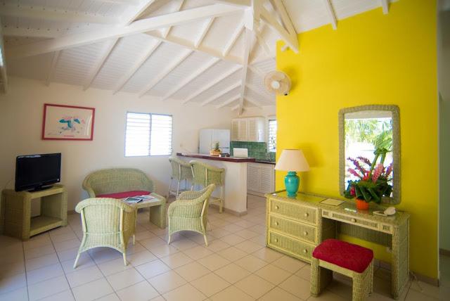 Chambre dans une villa créole