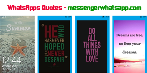 WhatsApps Quotes gratis para Windows Phone