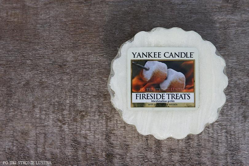 wosk zapachowy yankee candle o zapachu pieczonych pianek