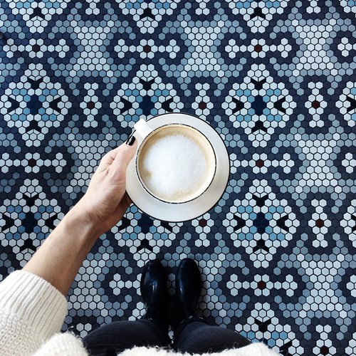Herringbone-blue_Happy Weekend Images of Inspiration {Cool Chic Style Fashion}