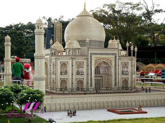 legoland theme park miniland taj mahal india review