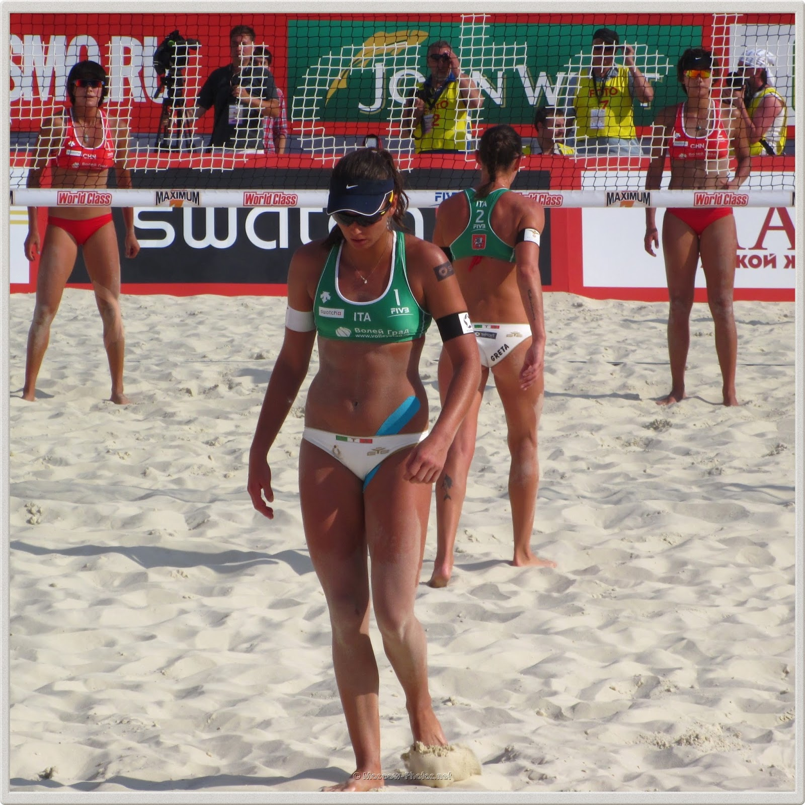 Italian Beach Volleyball Player Marta Menegatti