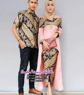 model baju batik muslim untuk pesta