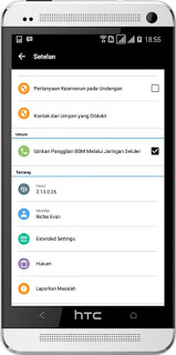 BBM Mod Apk v8 Based v3.2.0.6 Latest Version