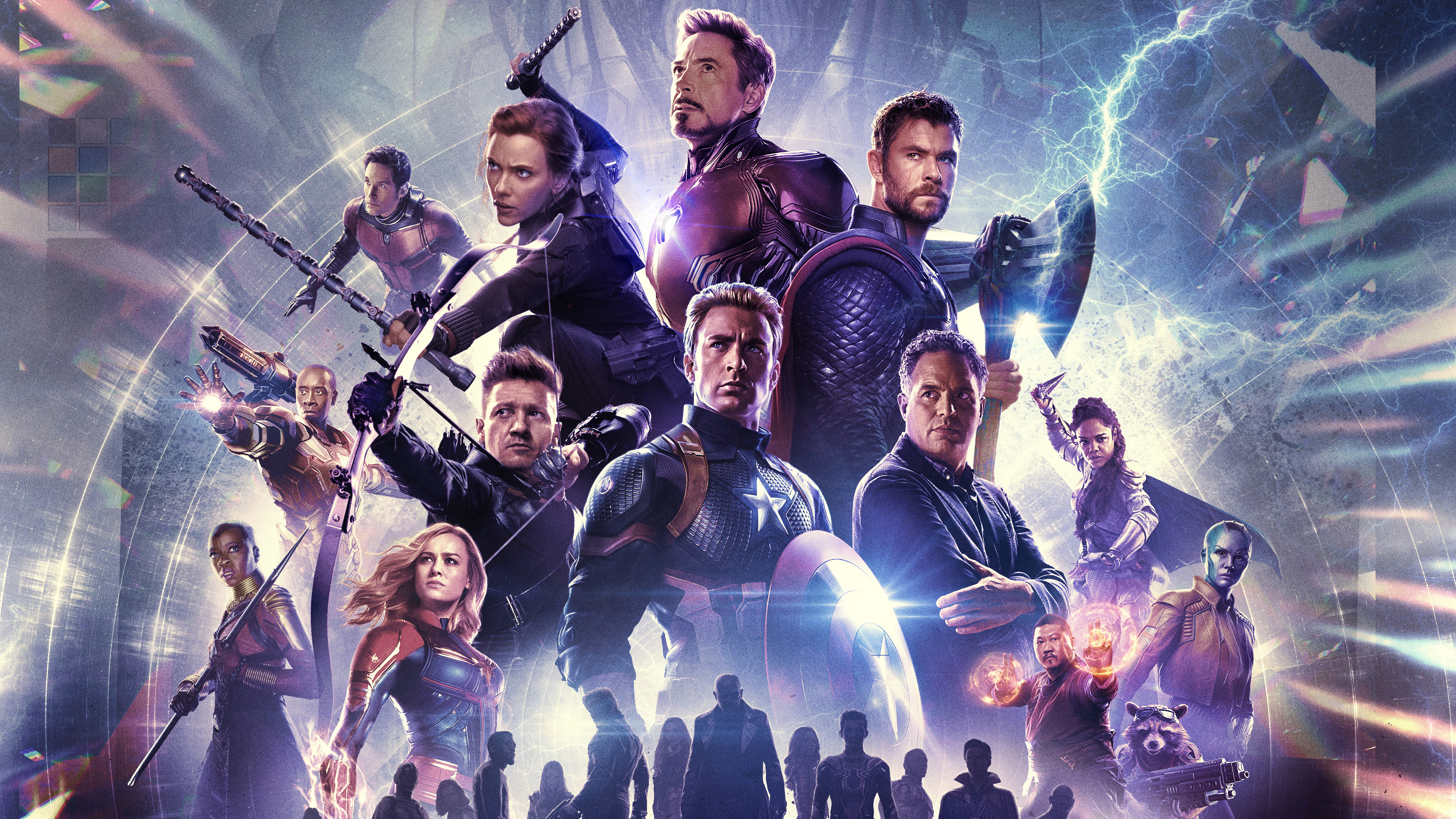 Avengers: Endgame Characters 4K Wallpaper #135