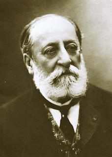 Fotografía de Saint-Saëns (1921)