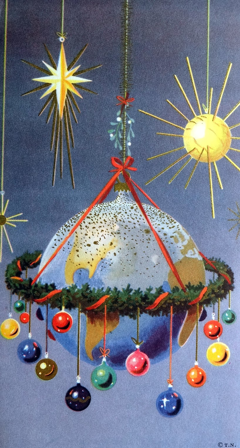 Oh, by the way...: Vintage Holiday Cards and Paper