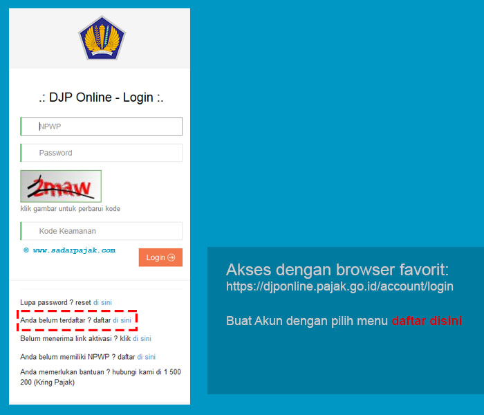 login dip online