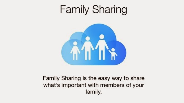 Family Sharing iOS 8