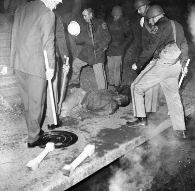 THE ORANGEBURG MASSACRE ( FEBRUARY 8, 1968