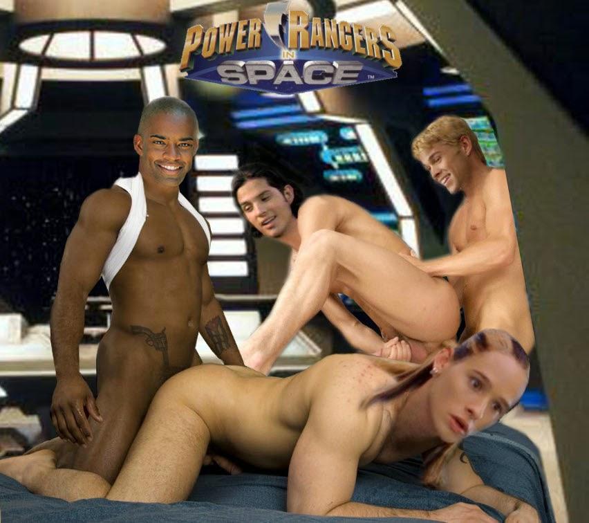 red power ranger naked