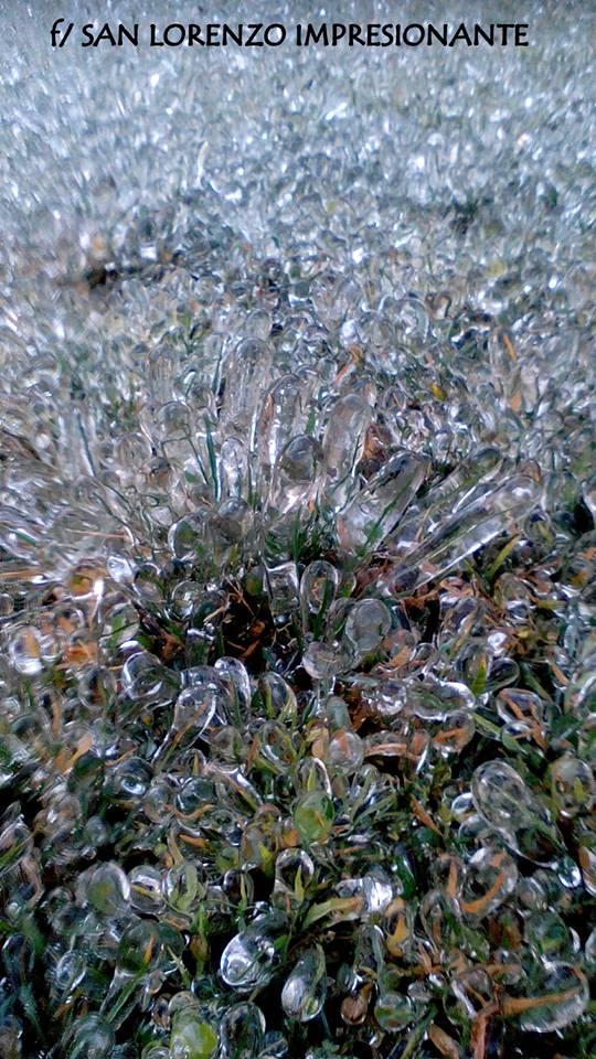 Increíbles formaciones de hielo se registraron en el Occidente de ...